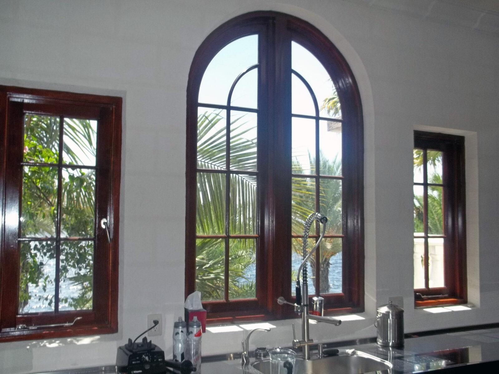 CORAL GABLES ESTATES MAHOGANY WINDOWS
