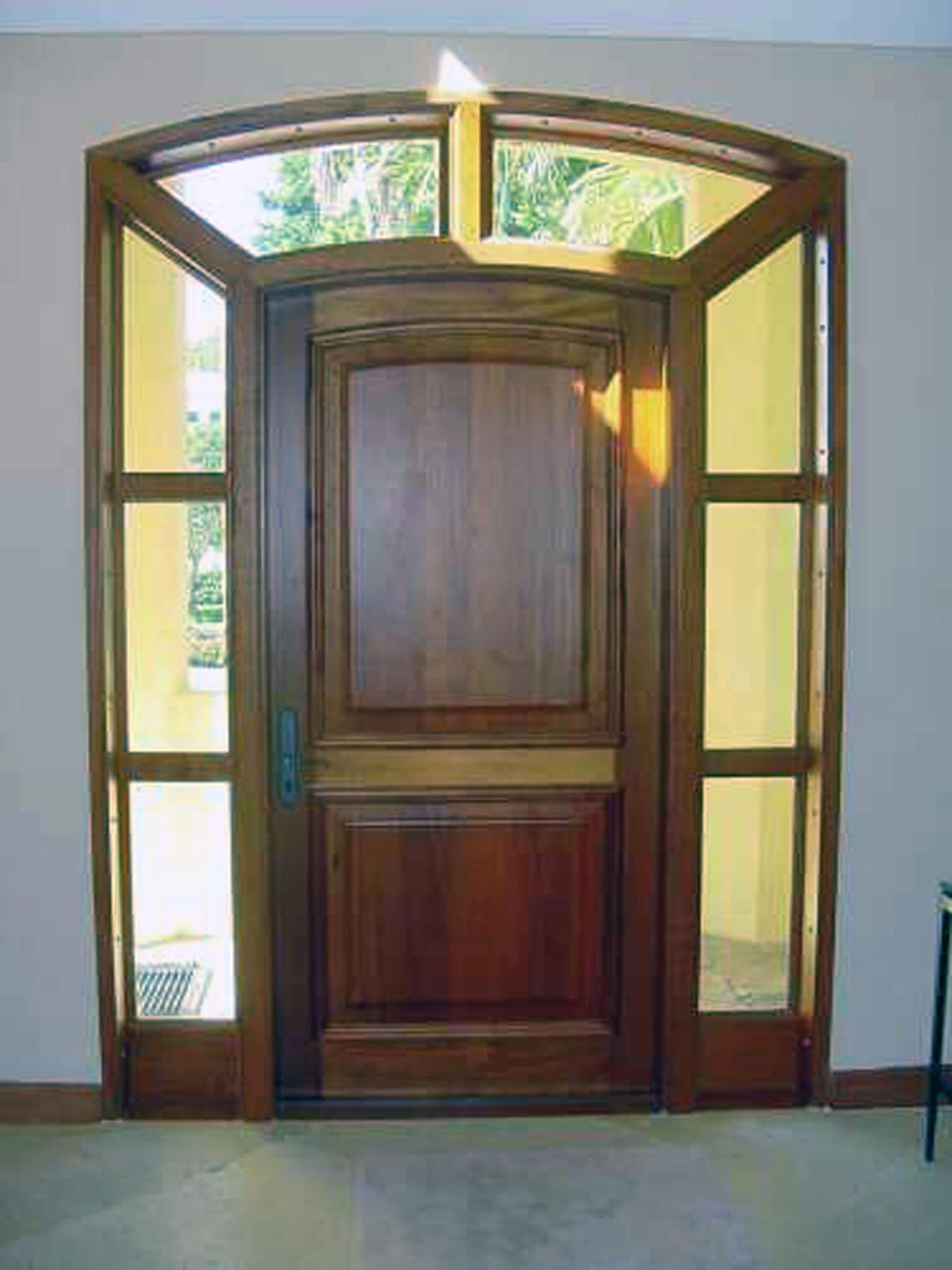 Fiesta Key Impact Mahogany Doors