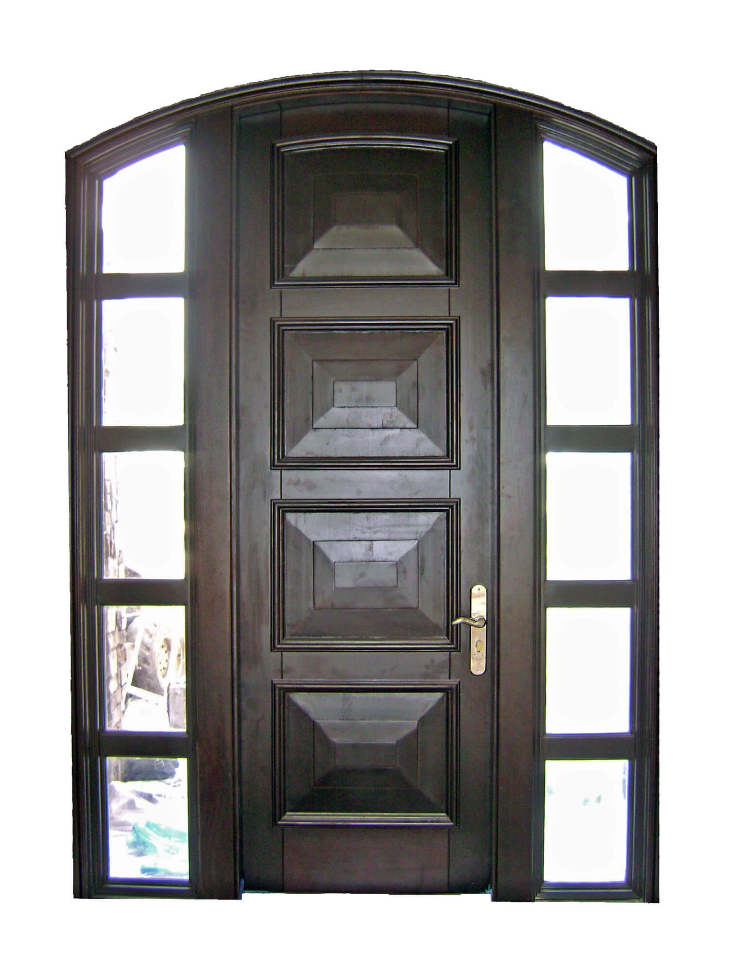 Flamingo Mahogany Entry Doors