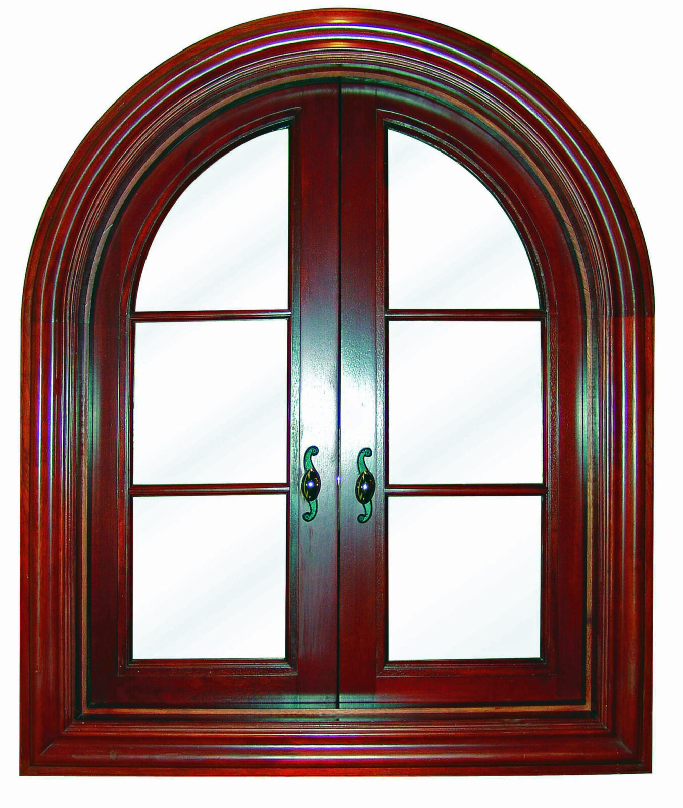 GABLES BY THE SEA MAHOGANY CASEMENT WINDOW