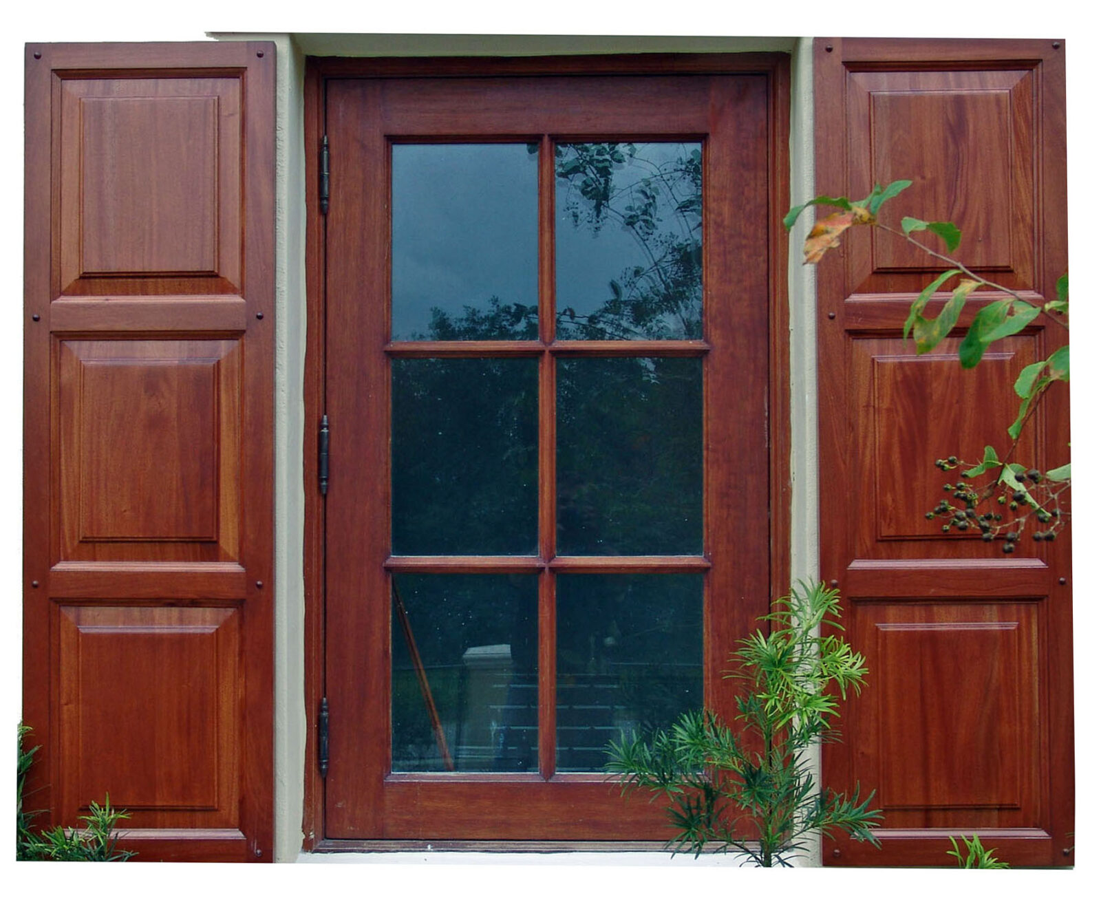 GABLES ESTATES WINDOW WITH SHUTTER
