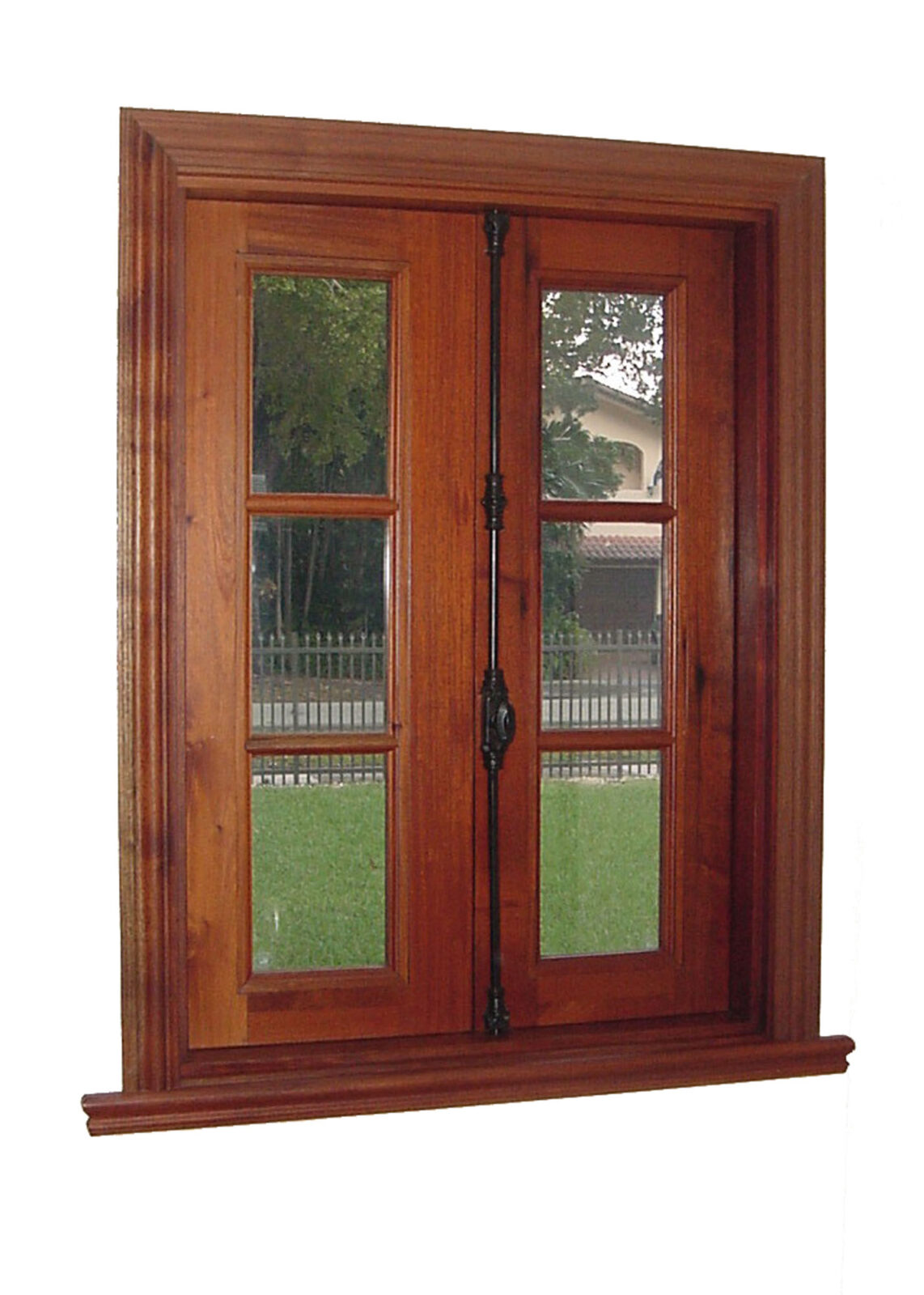 GRANADA MAHOGANY CASEMENT WINDOW