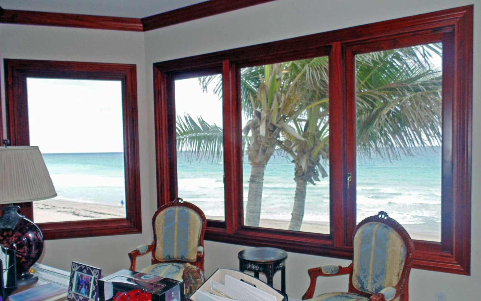 HIGHLAND BEACH MAHOGANY CASEMENTS