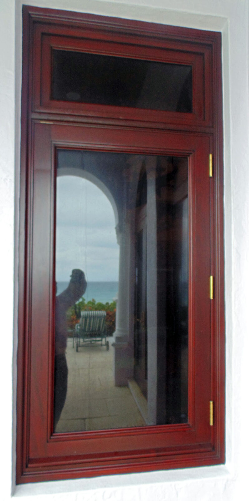 HIGHLAND BEACH MAHOGANY CASEMENT WINDOW