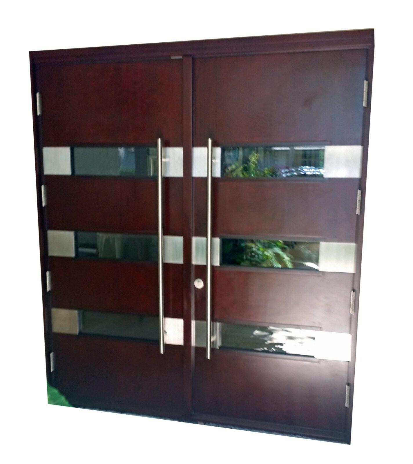 Jensen Mahogany Entry Doors