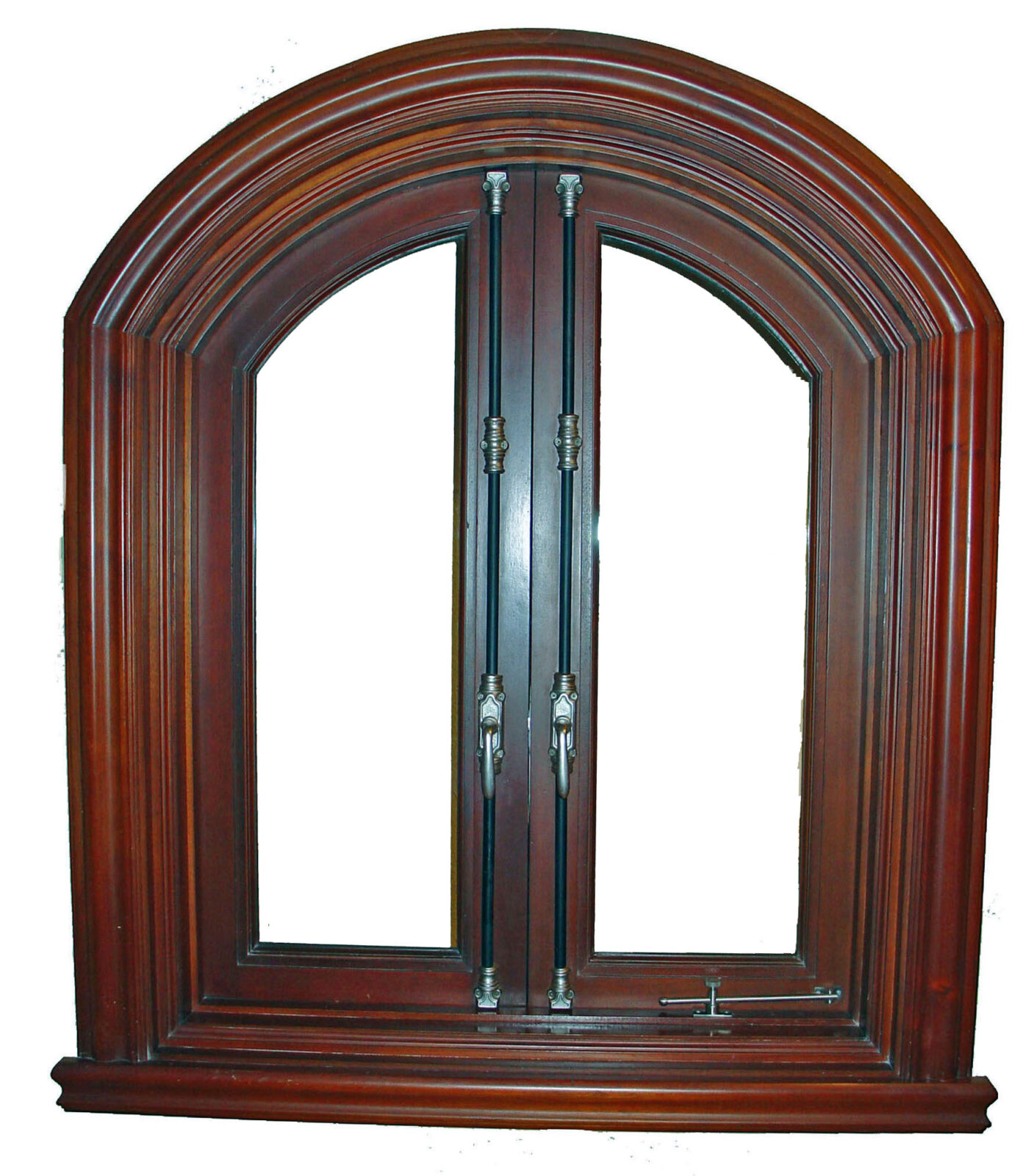 MIAMI MAHOGANY CASEMENT WINDOW