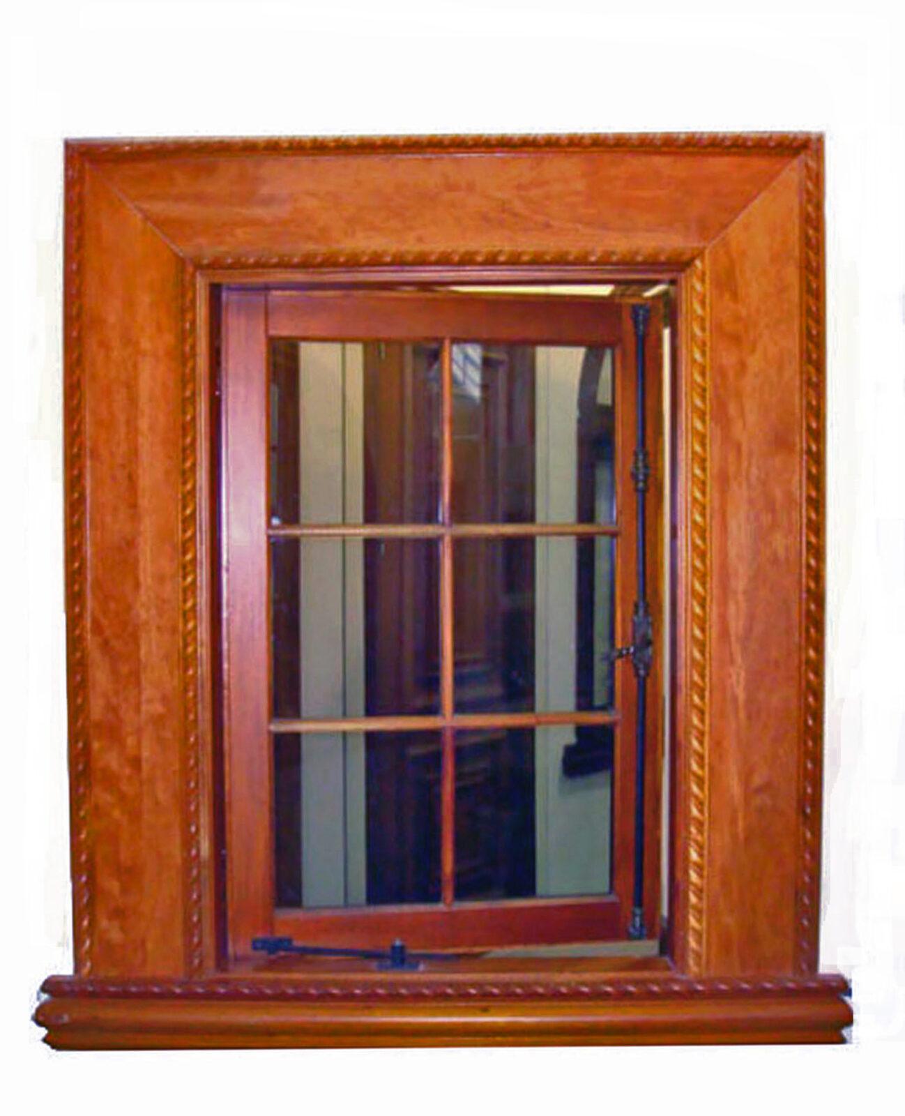 MIRAMAR MAHOGANY CASEMENT WINDOW