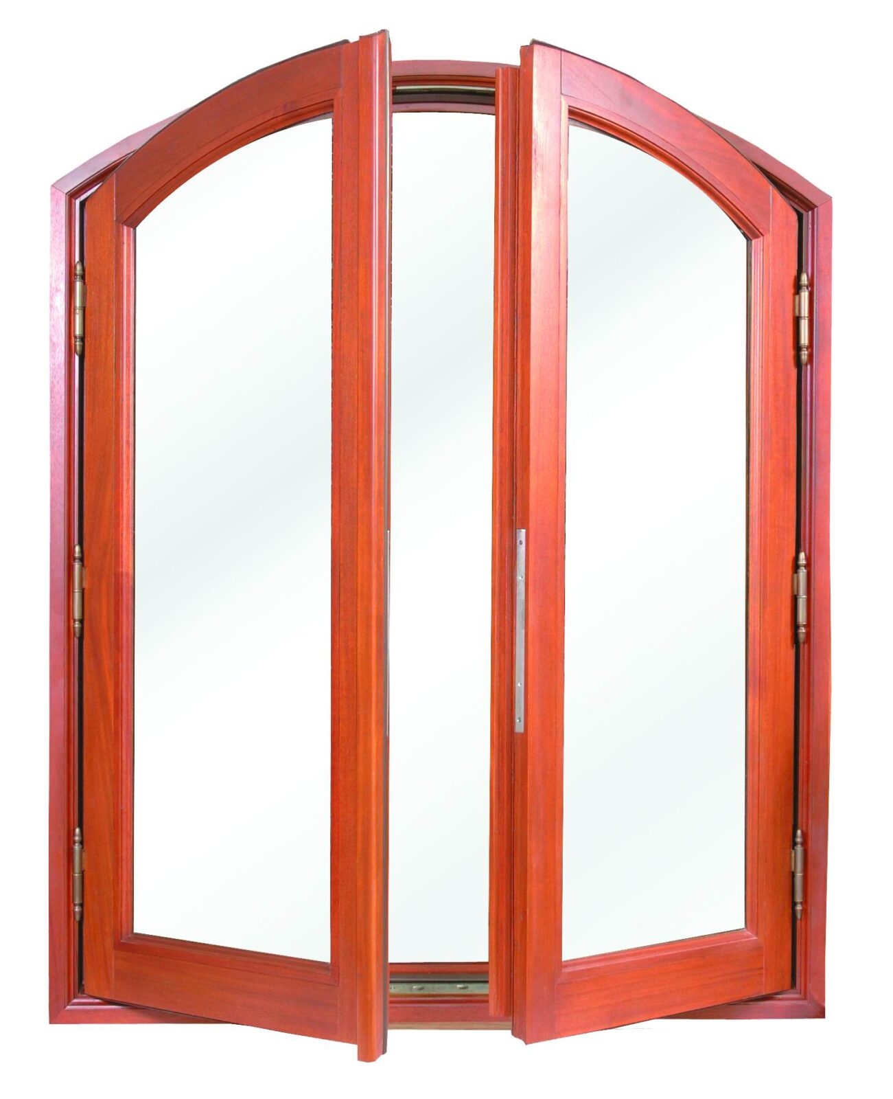 SAN PEDRO DOUBLE MAHOGANY CASEMENT WINDOWS