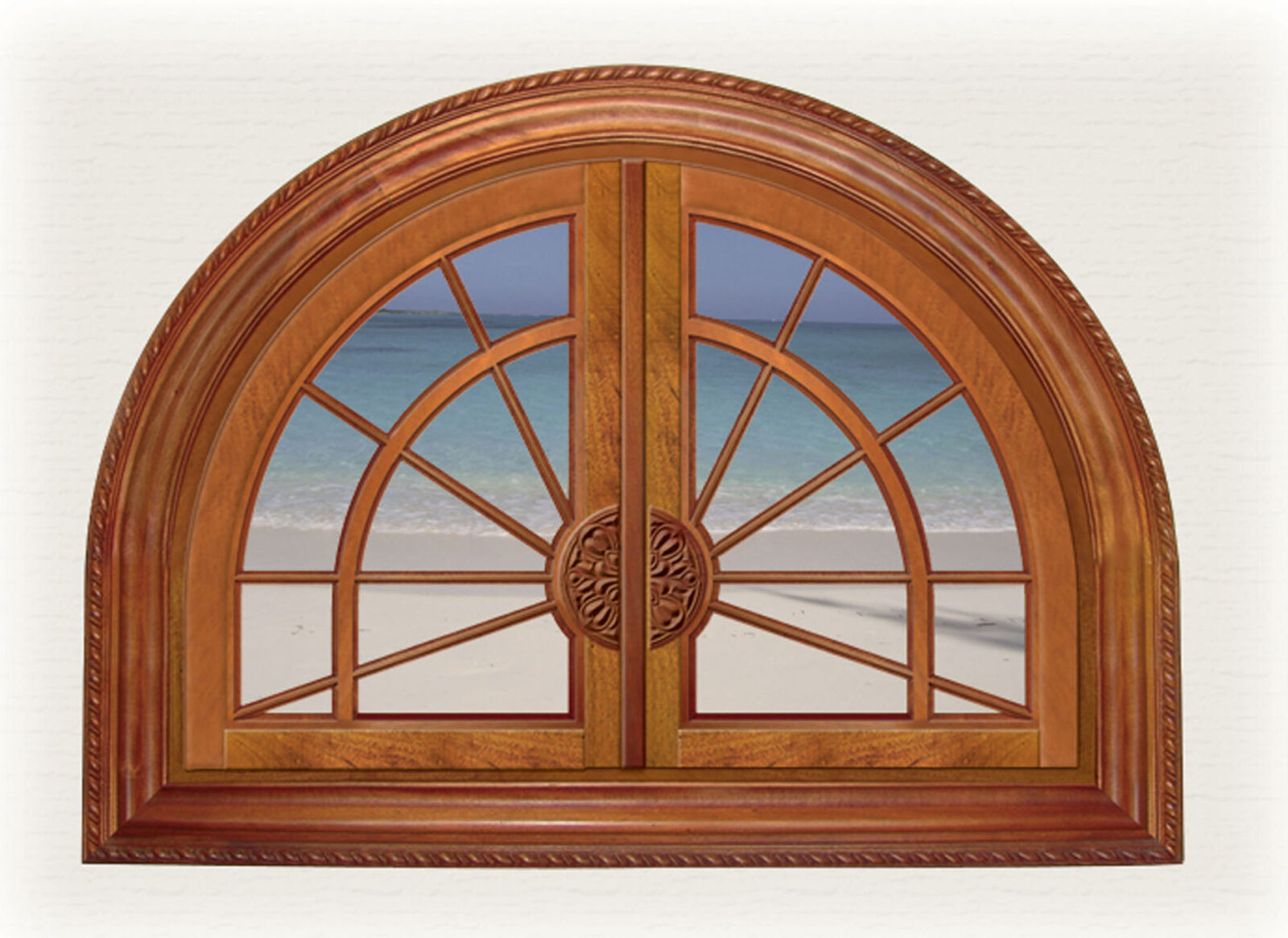SOMERSET FIXED ARCHED WINDOW