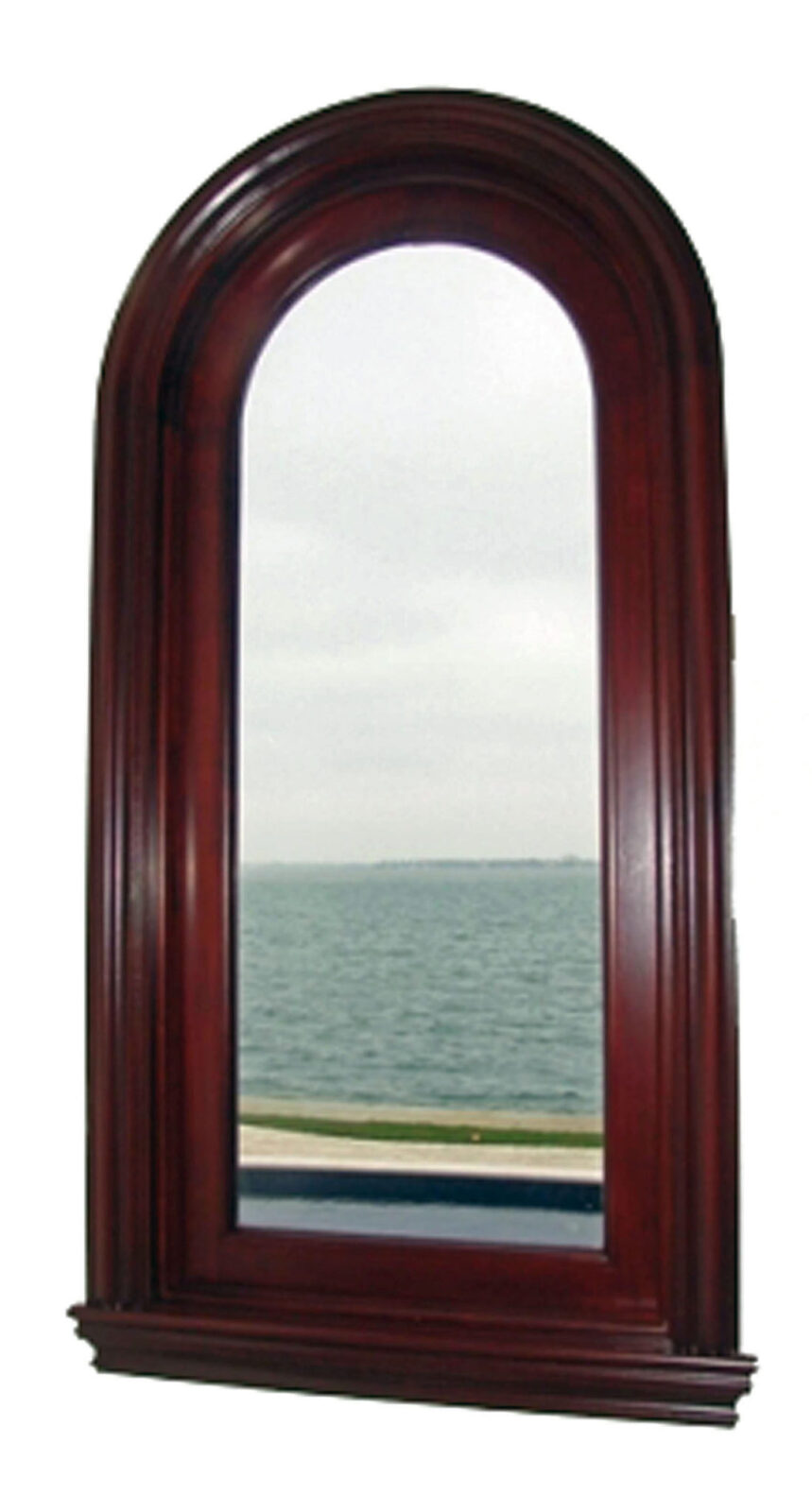 SOUTH MIAMI BEACH FIXED ARCHED WINDOW