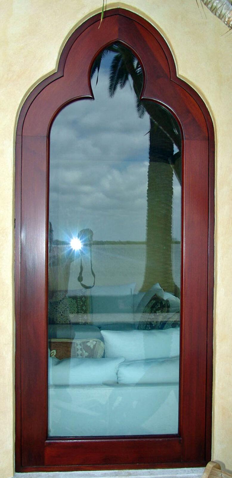 SUNSET ISLAND MAHOGANY FIXED WINDOWS.