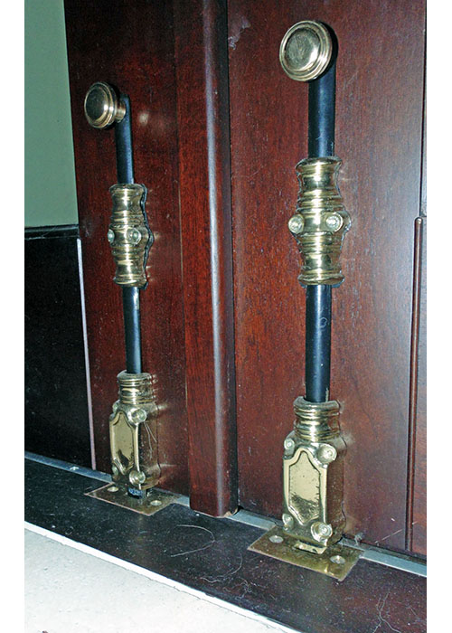 Traditional Surface Bolts Solid Brass and Black