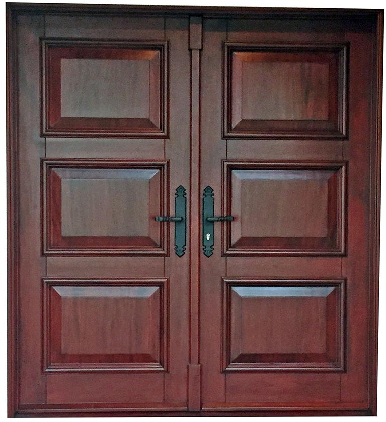 Adams Mahogany Entry Door