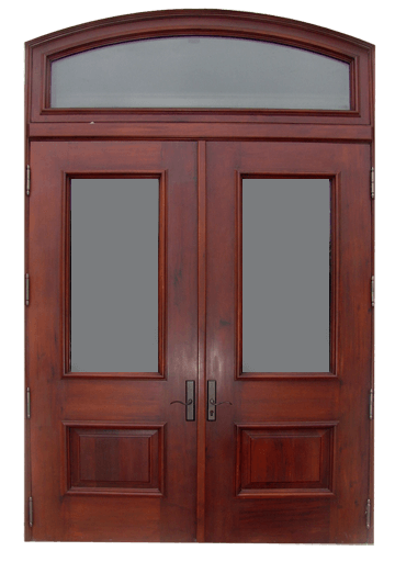Gables Estates Mahogany Entry Door.