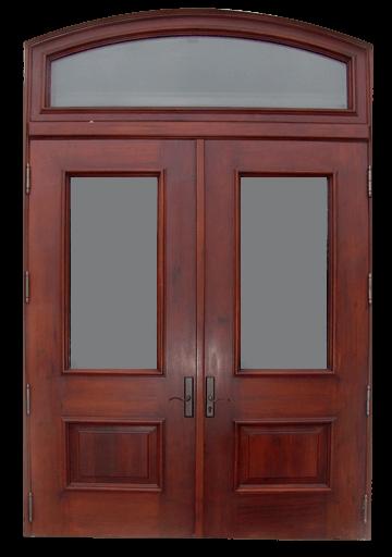 Gables Estates Mahogany Entry Door.