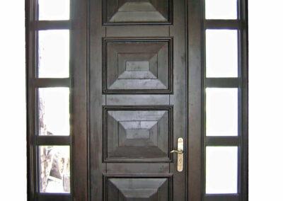 FLAMINGO MAHOGANY ENTRY DOORS.