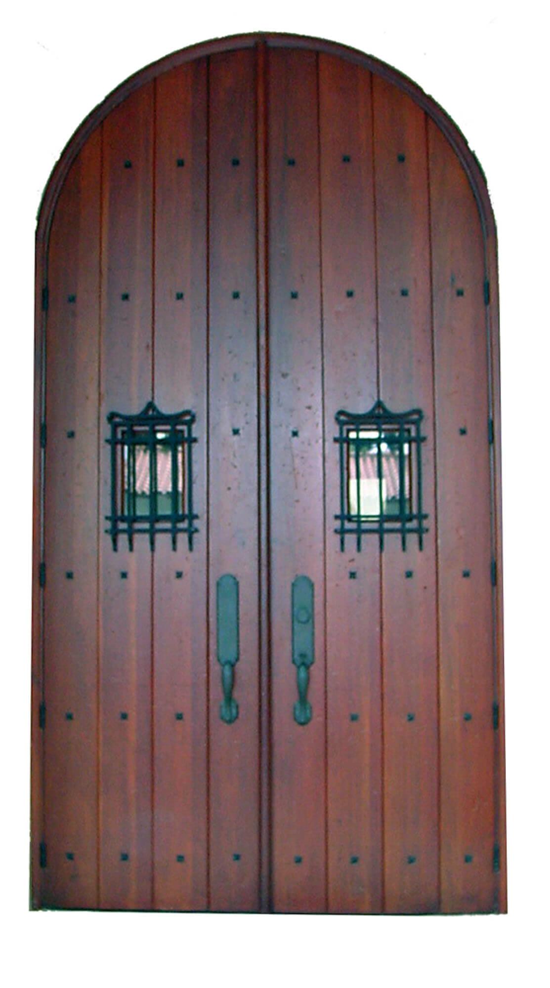 Fontainebleau Mahogany Exterior Door