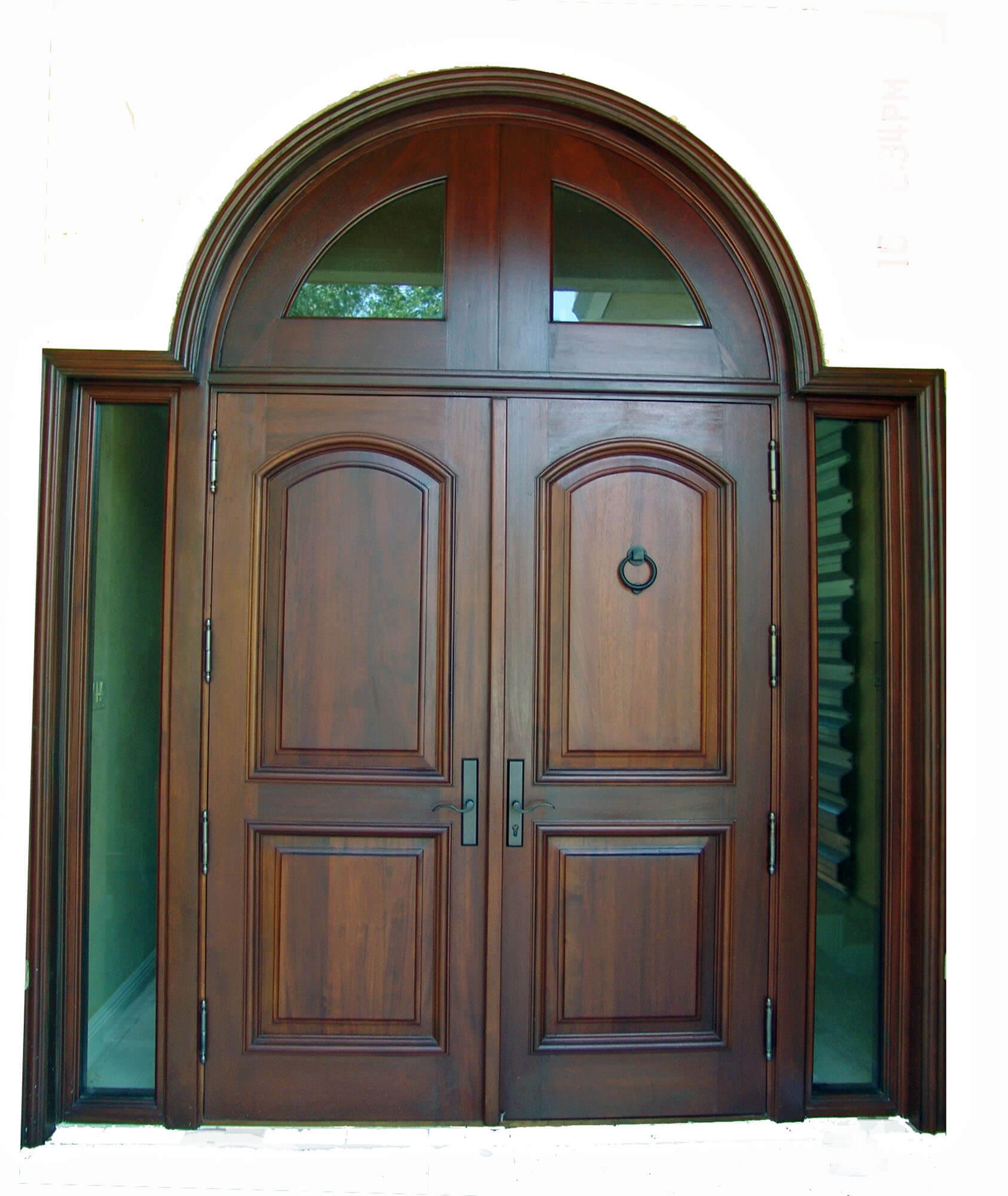 Gables by The Sea Mahogany Entry Door
