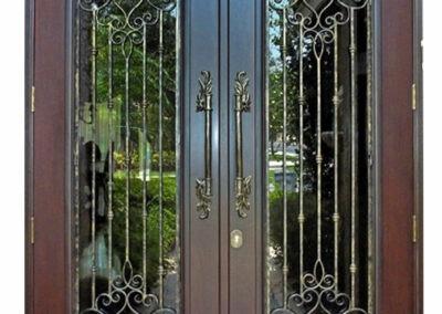 GOLDEN GATE MAHOGANY ENTRANCE DOORS.