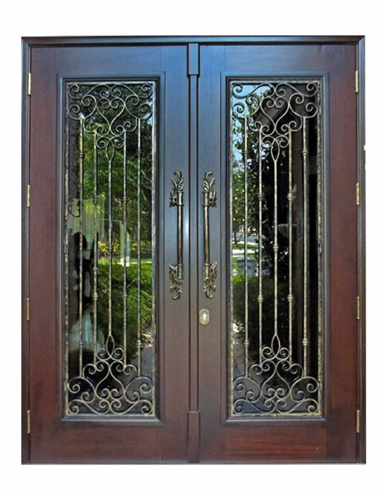 Golden Gate Mahogany Entrance Doors
