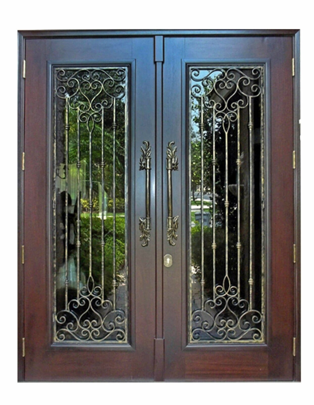 Golden Gate Mahogany Entrance Doors