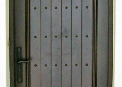 HIBISCUS ISLAND MAHOGANY DOOR.
