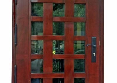 HILLSBORO BEACH MAHOGANY FRONT DOORS.
