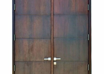 HOBE SOUND. MAHOGANY ENTRANCE DOOR.