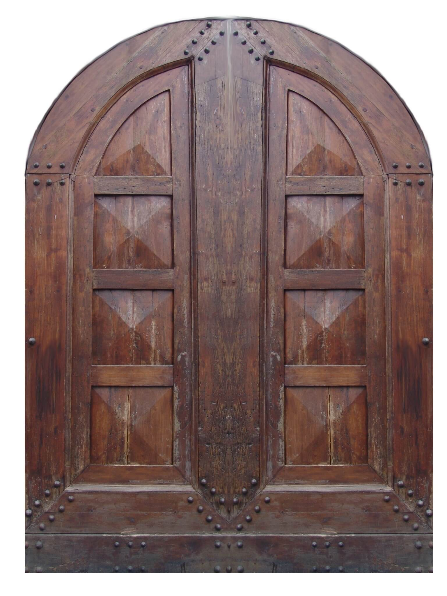 Homestead Mahogany Vintage Door