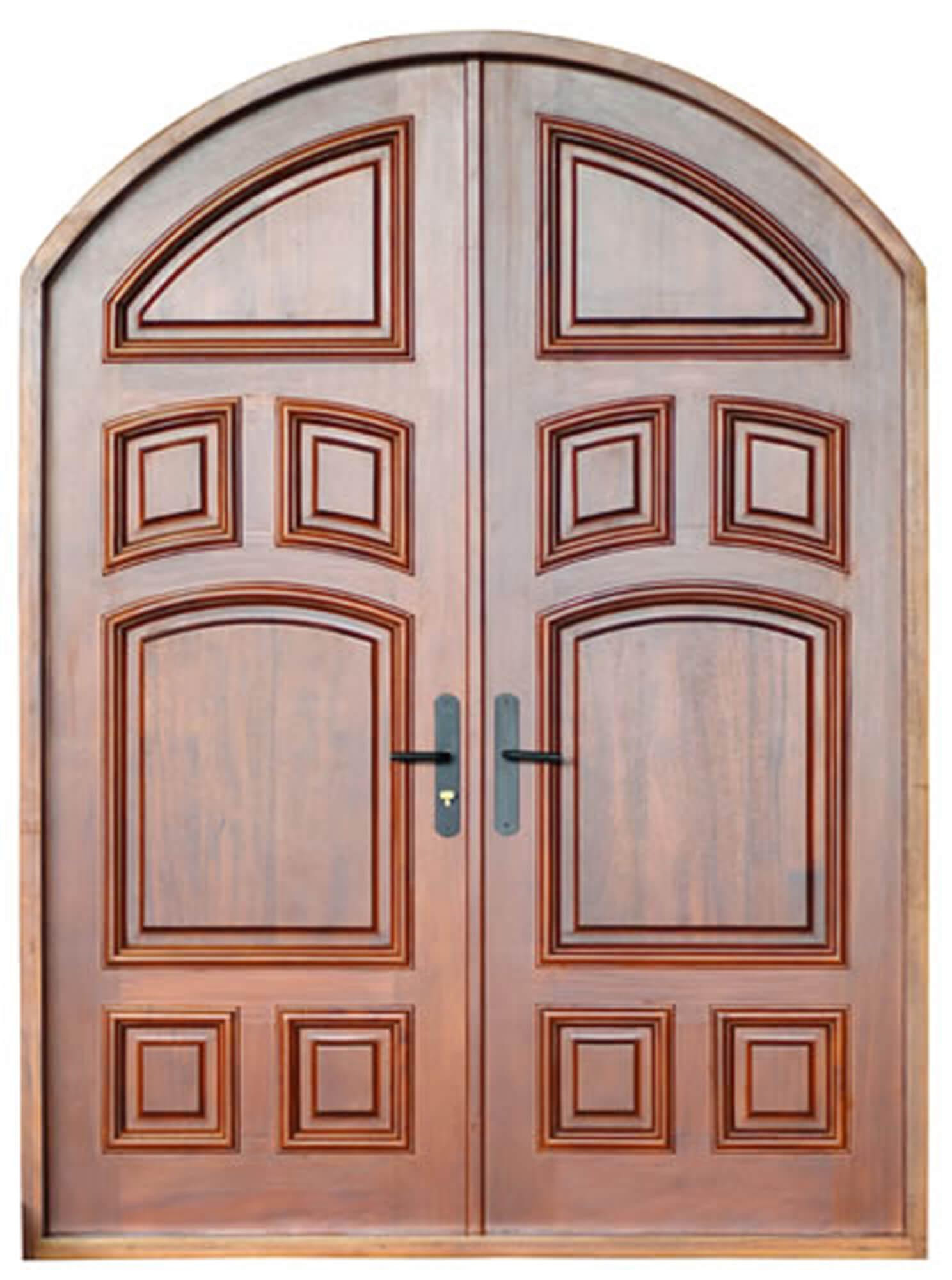 INDIAN CREEK VILLAGE. MAHOGANY CARVED DOORS INTERIOR.