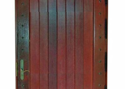 ISLA MORADA MAHOGANY DOORS.