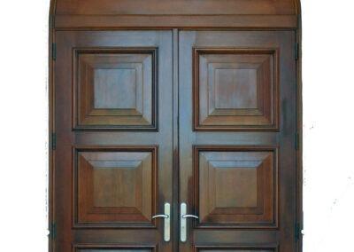 JUPITER BEACH. MAHOGANY ENTRANCE DOOR.