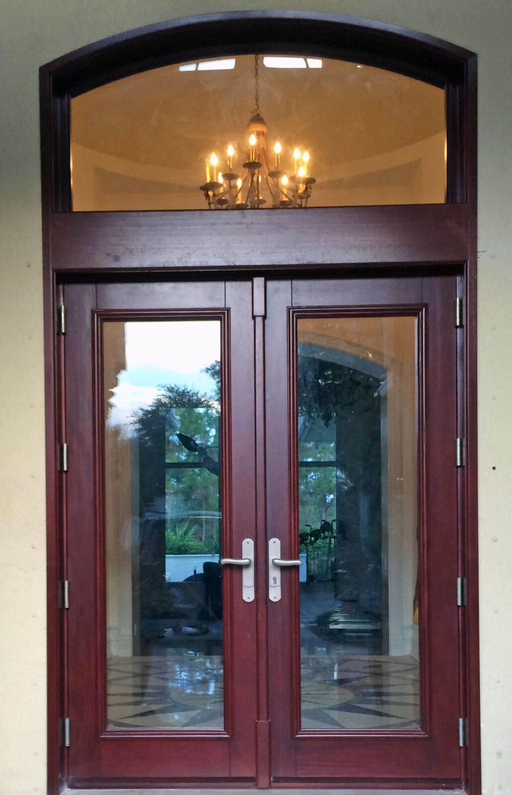 JUPITER ISLAND MAHOGANY DOOR.