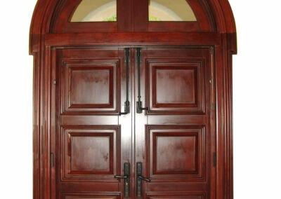 JUPITER MAHOGANY ENTRANCE DOORS INTERIOR
