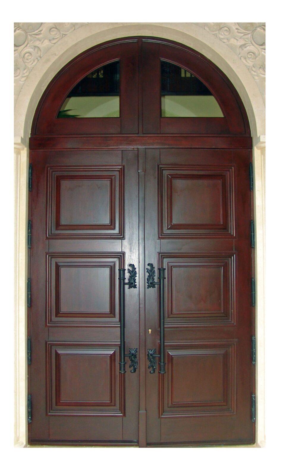 Jupiter Mahogany Entrance Doors