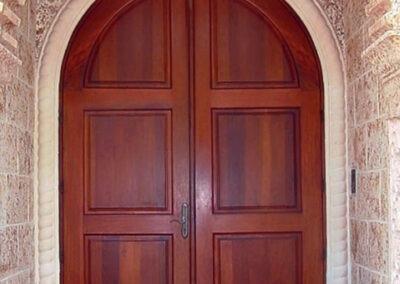 KENDALL MAHOGANY ENTRY DOOR.