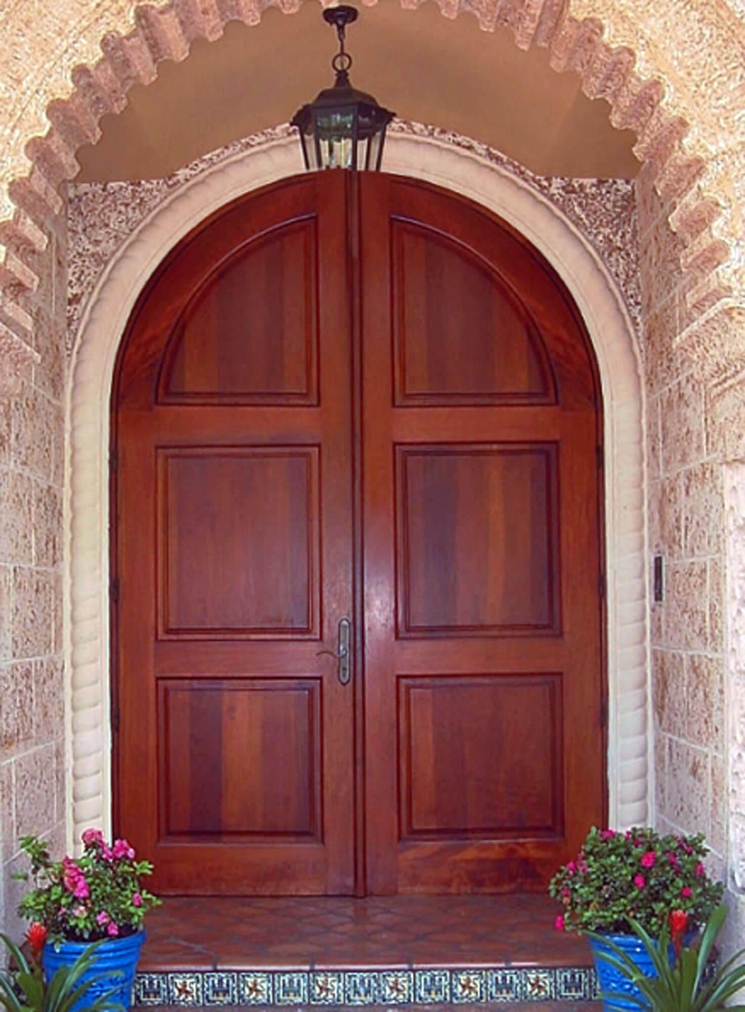 Kendall Mahogany Entry Door