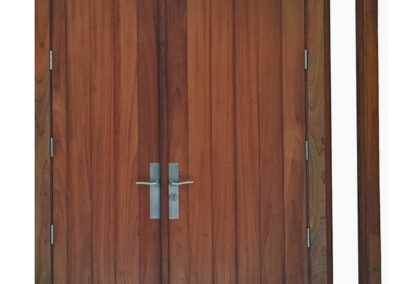 KEY BISCAYNE MAHOGANY DOOR.