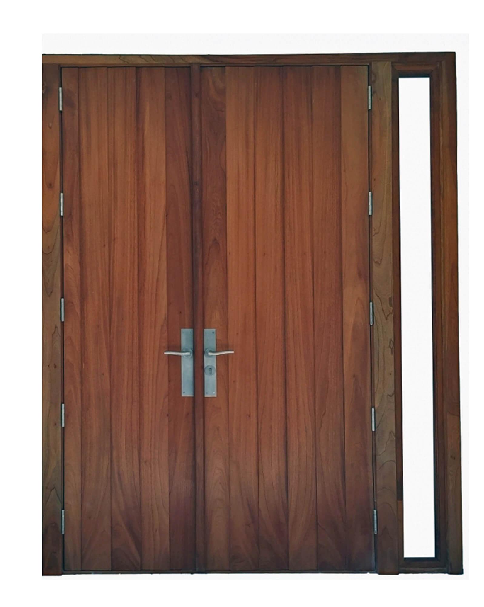Key Biscayne Mahogany Door