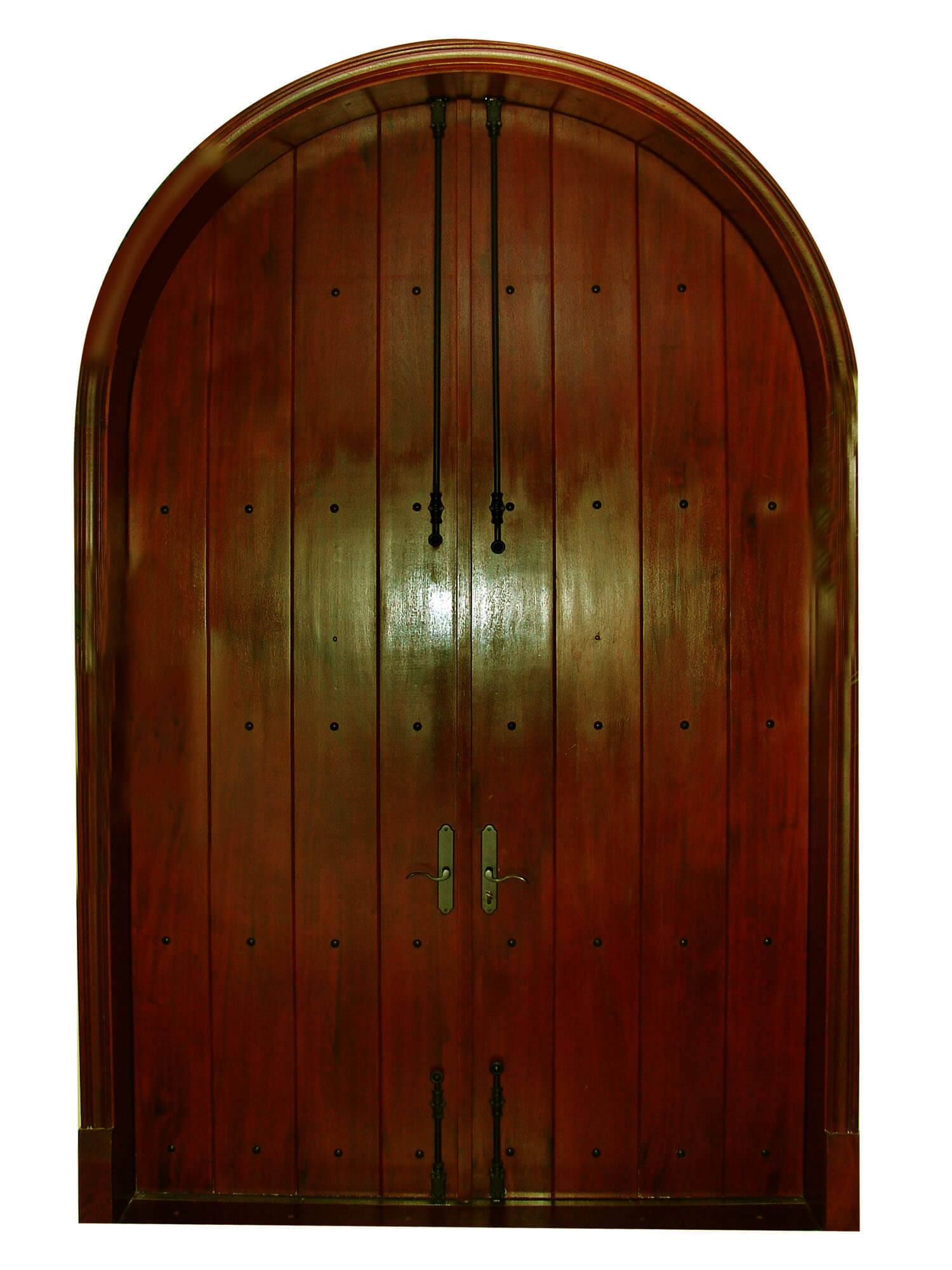 ANNA MARIA ISLAND INTERIOR VIEW OF MAHOGANY DOOR