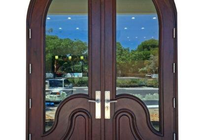 KEY COLONY BEACH. MAHOGANY ENTRY DOORS.