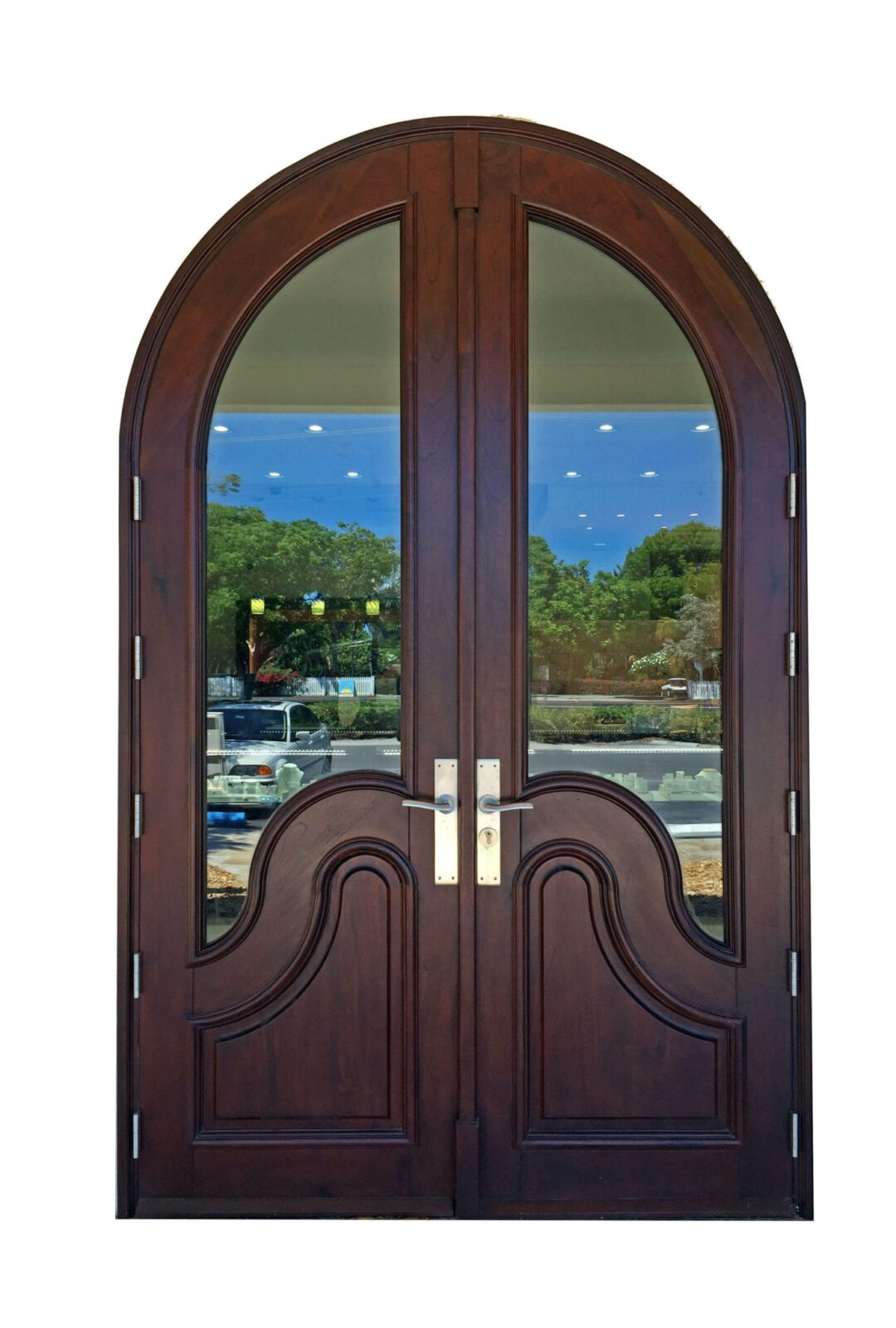 Key Colony Beach Mahogany Entry Doors