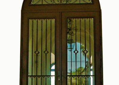 KEY HAVEN MAHOGANY ENTRY DOOR