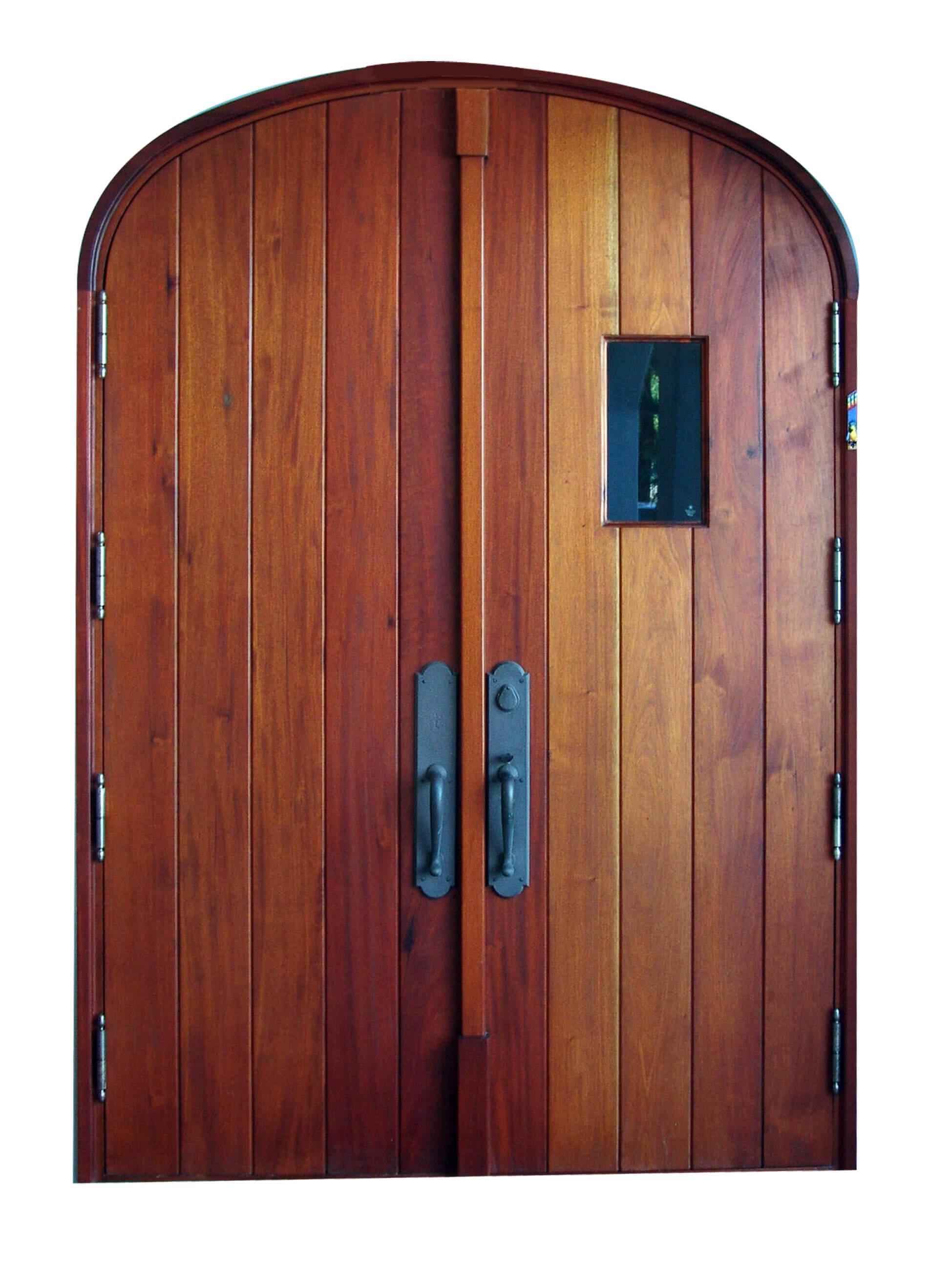 Key Largo Mahogany Door