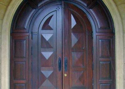 LAKEWOOD RANCH ESTATES. MAHOGANY ENTRANCE DOOR