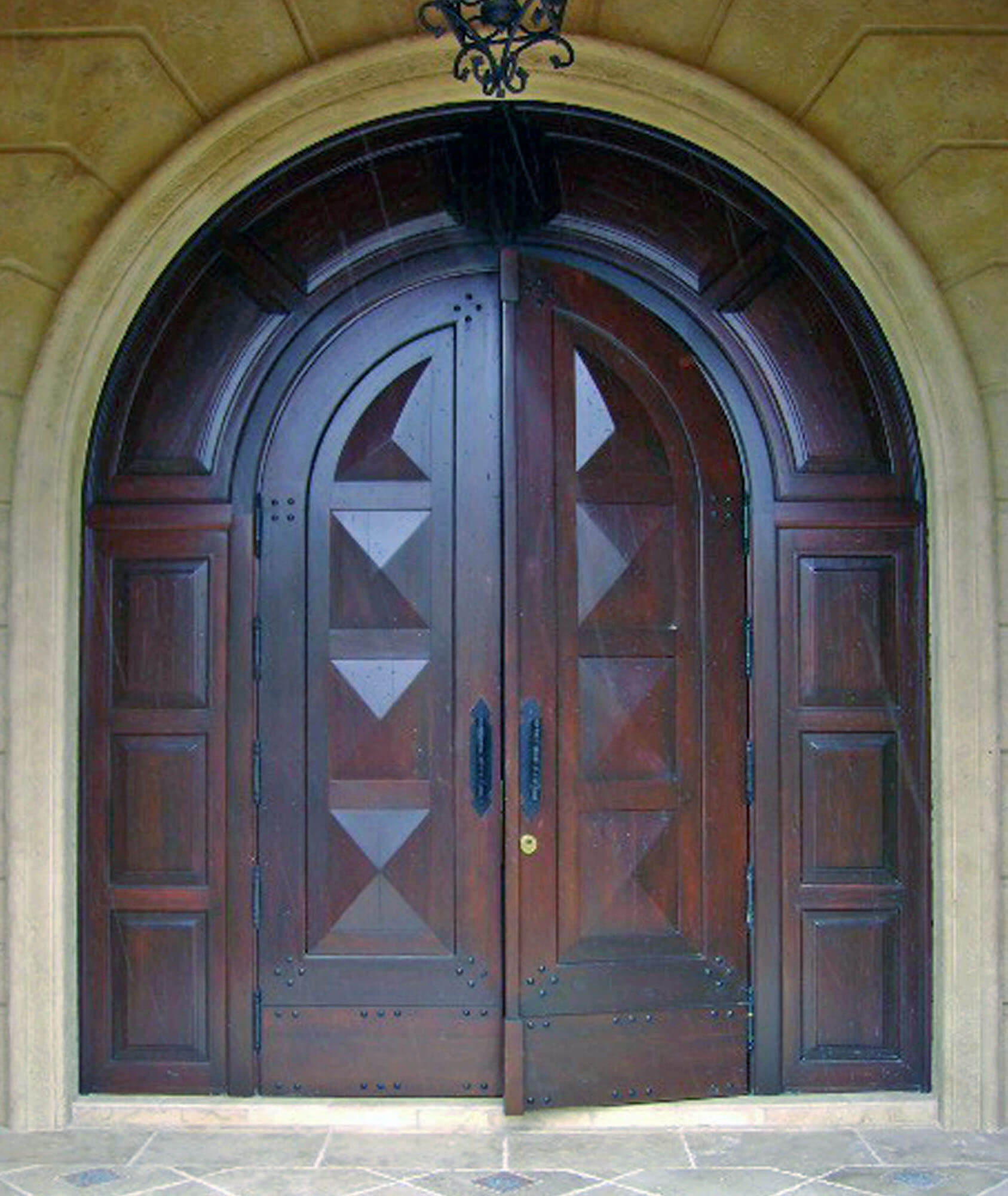 Lakewood Ranch Estates Mahogany Entrance Door