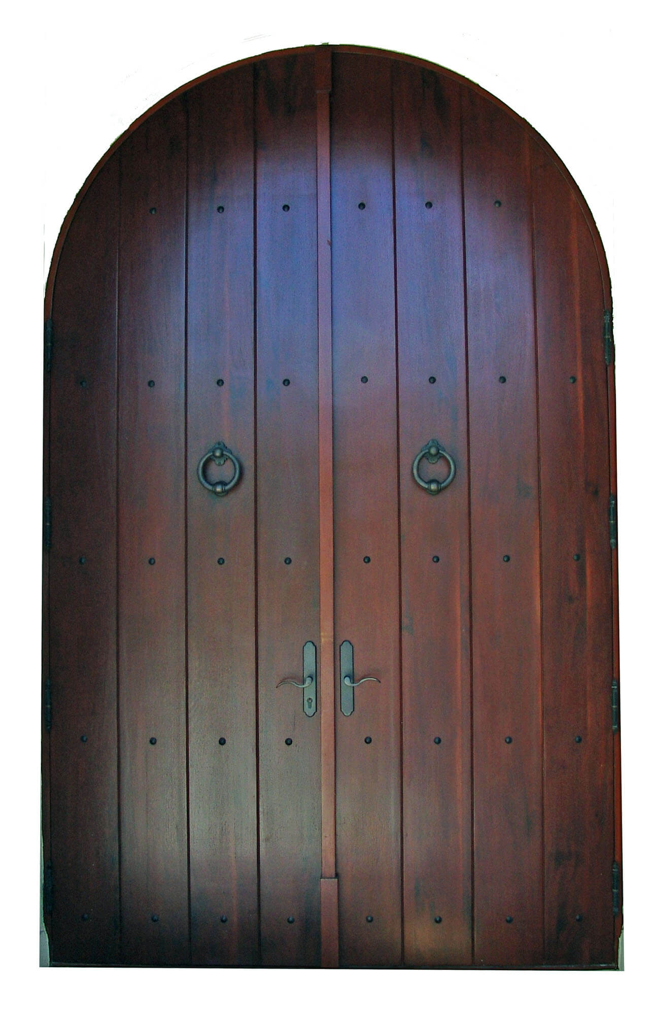 ANNA MARIA ISLAND MAHOGANY EXTERIOR DOOR.