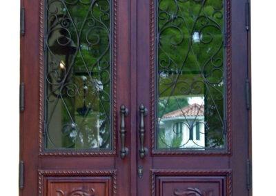 LITTLE PINE KEY MAHOGANY EXTERIOR DOORS.