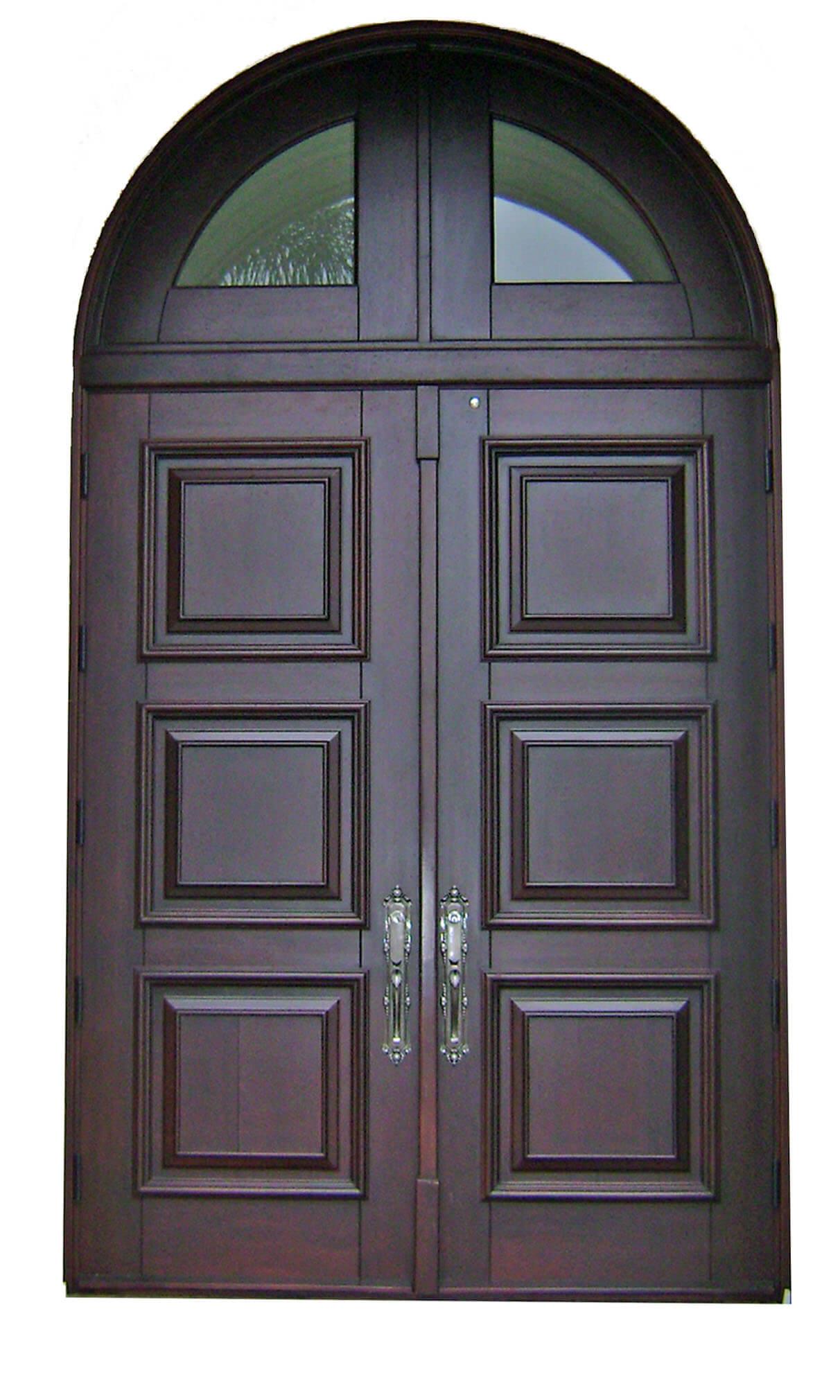 LONG KEY MAHOGANY EXTERIOR DOORS.