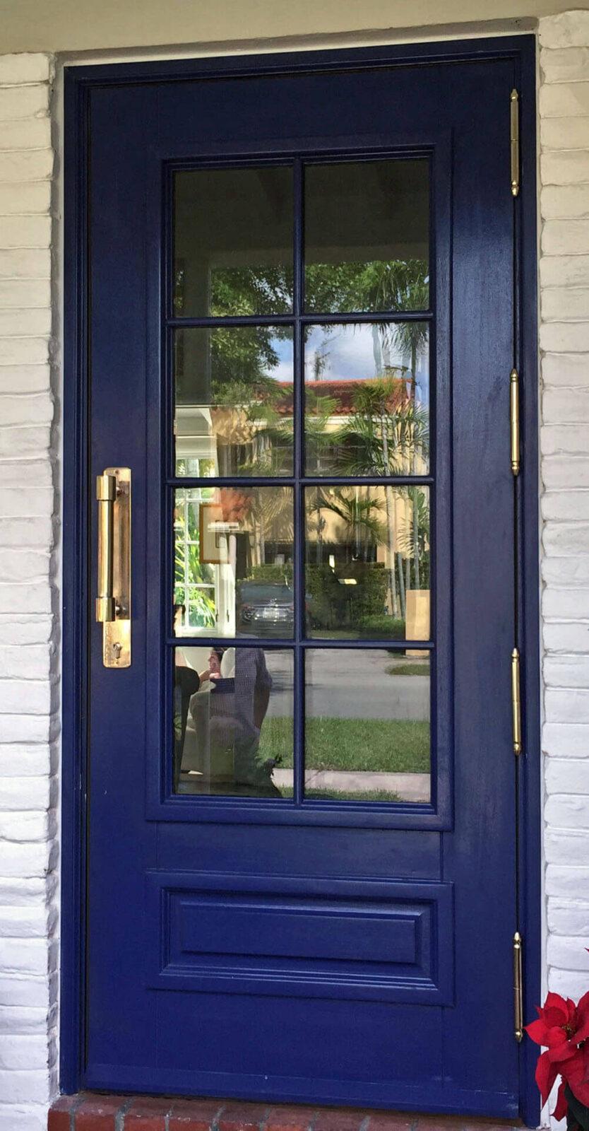 MADRID FRONT ENTRY DOOR.